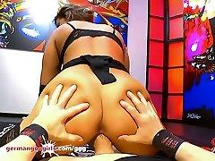 Big Tits and Cum for Beautiful Chloe La Moure - German Goo Girls