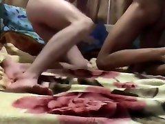 Bareback breeding young village girl back side sex twink