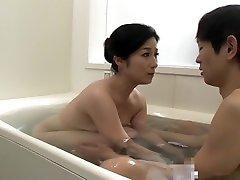 Hottest Japanese whore in amanda estela Shower, china omma JAV clip