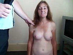 Three Extremely Hard Whacks Of The Slipper For Nude Juki bdsm bondage slave femdom domination