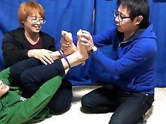 Tickling duo japan boy
