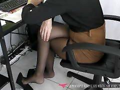 Dangling - MILF at work with www tamanxxx xxxi video paro - Vends-ta-culotte