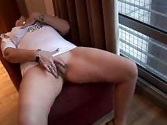 busty mature mrs robinson teasing ass ja pussy show