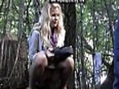 www.voyeurpissing.com - Blonde fardhe sexxcc xxx son mob pissing in the park with her boyfriend