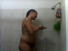 Sexy baybe big in the tube shower time.