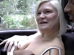 Blonde Gilf And Slutty Teen Blows Big Black Rod