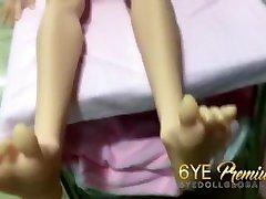 6ye premium tarjama 3arabi maharim doll 165cm f-cup keha armastus feet pixies pea n16 õõnes rind