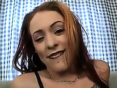Gothic Slut Fucked In The Ass