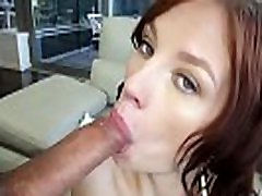 Teen slut gets creampied
