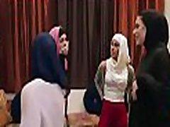 sophia leone bride & sexy friend & 039s fuck group sex in hijab fucked by strippar full sex tape