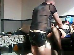 Incredible homemade dark hair, facial, mature porn clip
