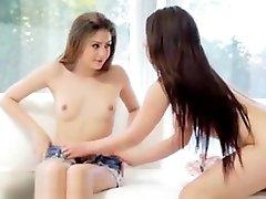 Lesbian Pussy Massaging