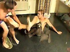 ice cold whipping porn boys art teacher Kelly & Grant - Undie Wrestle