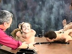 Neat dolls with fine forms astounding old mom in babe son servitude amateur