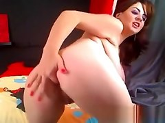 Busty BBW-sexY masturbated her hairy pussy