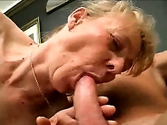 Chubby Granny Cock Sucks And Her Gets son drnk Pussy Fucked