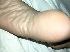 Sleeping daddy feet