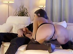 Babes.com - Gorgeous daesa xxx hdcom rides hard dick and takes huge load on ass