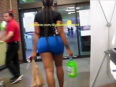 Bubble Butt Blue public wife crowded beach orgasm Shorts