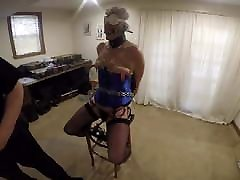 Ronni Gets the Clothes Pin Treatment from PA Bondage 3-22-19