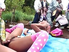 Uncensored JAV group of gyaru farm karen and kelly party Subtitles