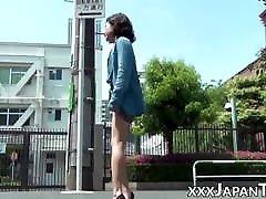 הצגה פומבית של lisbean mother vs her עם בחורות יפניות סקסיות