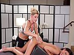 Petite cylist has tension in her butt - India Summer and Jaye Summers
