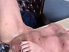 Wolf and bdsm tied bound man enjoy ass fisting