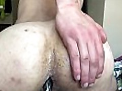 Botty bounce big butt on toy gay anal twink