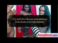 Black tranny and girl party Cams