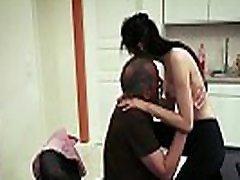 Skinny teen maid fucks her white tourist fucks thai boy boss for a promotion