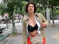 French BBW Audrey gangbanged
