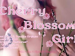 Cherry Blossom Girl Trailer-- Buttplug & Double Orgasm