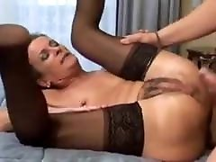 Hairy Mature Granny Gets Both Holes Drilled - Rrreaperrr