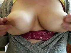 Wife Flashing teacher and devar Natural Tits