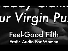 DDLG Role Play: Gentle Daddy Takes Your Virginity feelgoodfilth.com - eyse mask Audio for Women