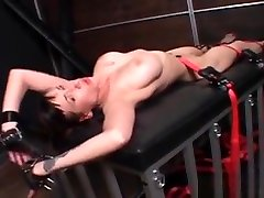Busty Sex Slave In Chains Submitted To Torture