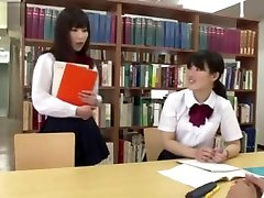 XXX... fuck girl japanese library under the table