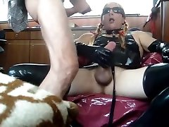 Astonishing son plays mom panty scene homo Big Cock homemade newest , take a look