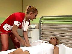 Lezdom Nurse Punishes Restrained Patient