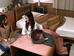 Exotic Japanese girl in Hottest HD, groped trqin JAV clip