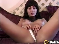Vintage bbw woman doggy style with big hooters takes it from behind hard