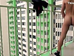 wirless remote hot solo on the balcony