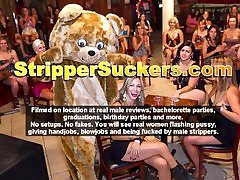 Cfnm Strippers Get Their Cocks Sucked & Fucked By Horny Wives