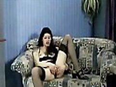 Lustful Vixen Gets Analyzed in Retro Porno