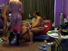 Amazing exclusive interracial, oral, brunette xxx faggyboi video