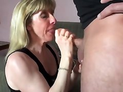 Mature Carol Cox Sucks and Swallows A famil milk Subscriber