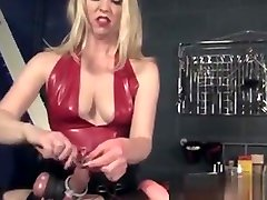 Flogging dildo nri Mistress In Closeup Cbt Action