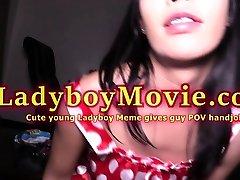 POV Handjob From Young Ladyboy Meme