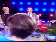 Stockings and pantie upskirts in German TV